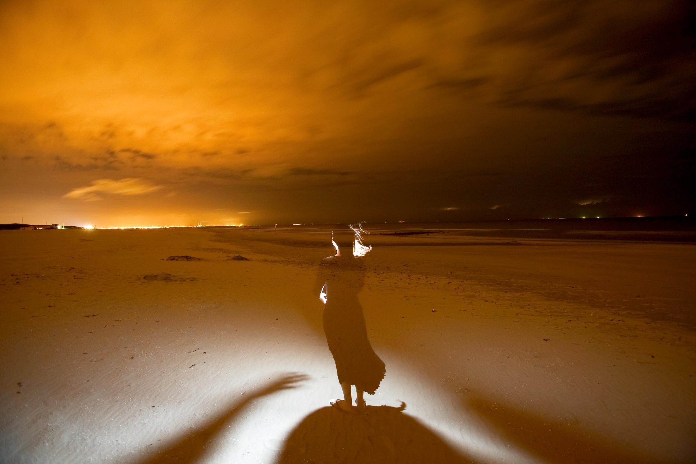 image from Creatief gebruik losse flitser bij nachtfoto's